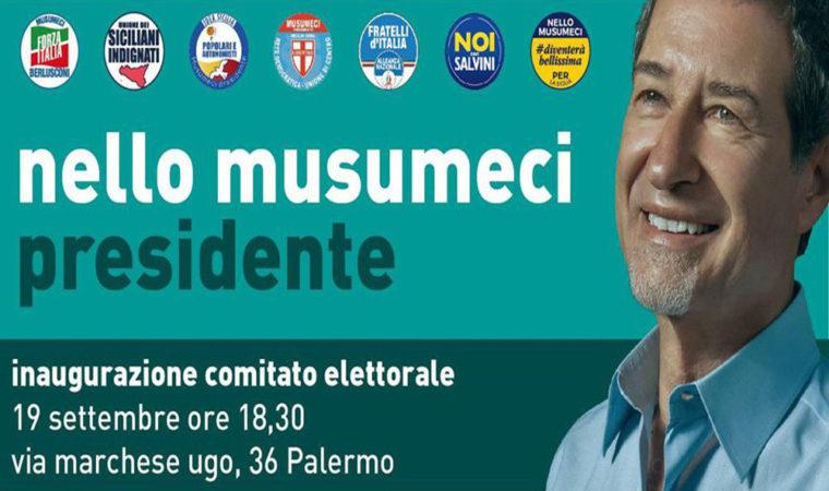 Inagurazione comitato Palermo