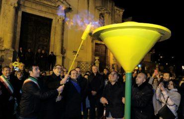Inaugurazione Metanodotto